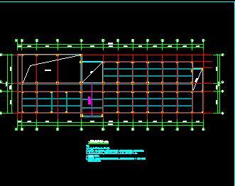 钢框架结构健身中心改造加固结构施工图纸