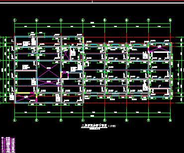 七层框剪综合楼改造加固结构施工图