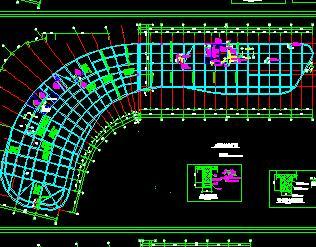办公楼改医院改造加固结构施工图(原框架结构)