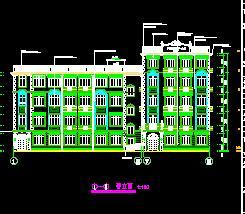 某小学砖混教学楼加固改造全套施工图纸(全专业)