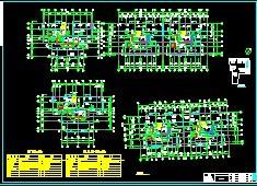住宅楼太阳能中央热水系统施工图