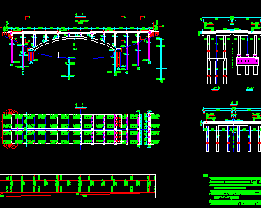 某桥梁设计图纸