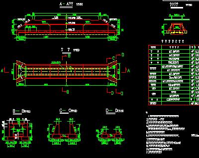 道路工程设计图纸包括板涵一般构造图、圆管涵一般构造图、1米圆管涵通用图、平交口平面图、平交口沥青路面标高网等