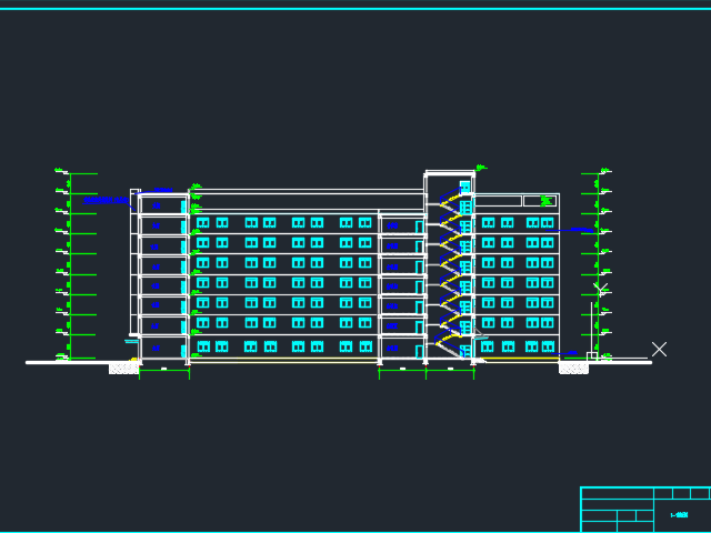 8400�O八层框架结构综合办公楼毕业设计(含计算书、图纸、施组)