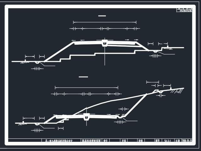 全长1.40km路基宽度26米一级公路毕业设计(含图纸)