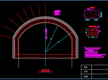 分离式独立双洞双向四车道公路短隧道毕业设计(含图纸)