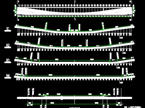 预应力混凝土简支梁桥毕业设计(含图纸)