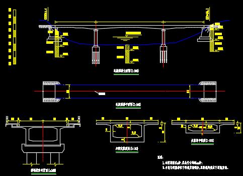 预应力混凝土连续梁桥毕业设计(含图纸)