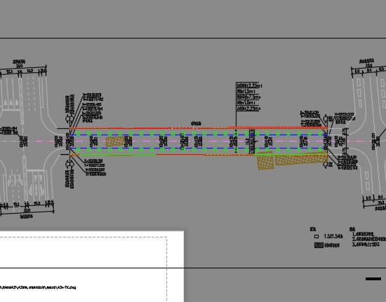 某市政工程道路设计图纸