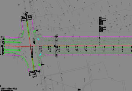 农业园区道路改造工程设计图纸