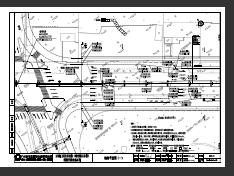 1.322km道路升级改造澳门新濠天地施工图(PDF格式)