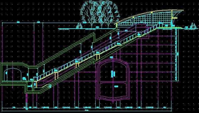 某地铁车站全套设计图