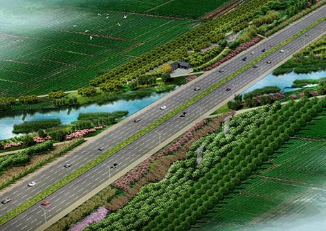 某城市道路景观绿化工程施工组织设计