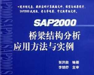 SAP2000桥梁结构分析应用方法与实例