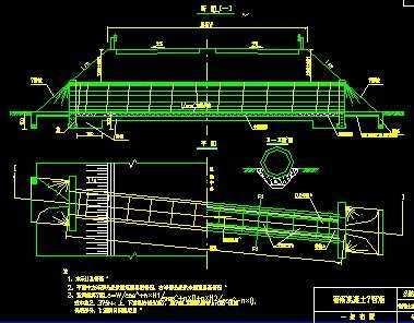 1米圆管涵通用图