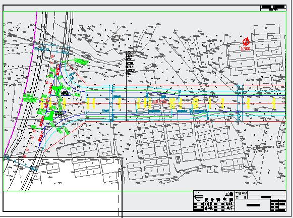 市政道路及管网工程设计图纸
