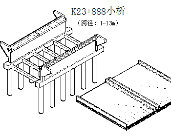 桥梁立体设计图
