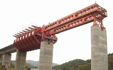 桥梁施工:上行式移动模架施工与控制