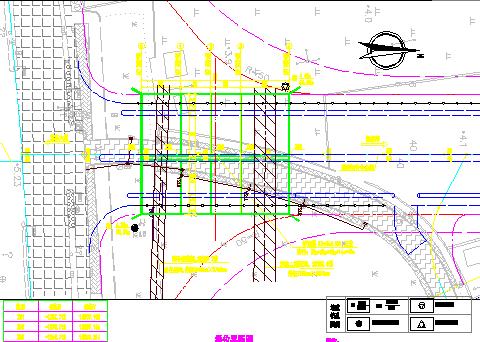 长1213.639m城市道路新建工程施工图纸