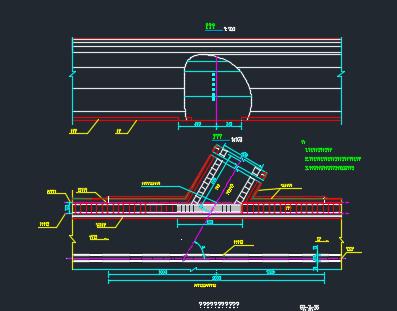 高速公路隧道施工图纸
