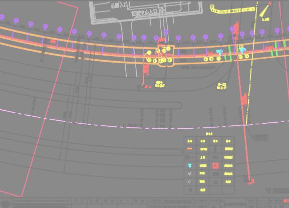 金融商务区综合管廊工程规划设计图纸