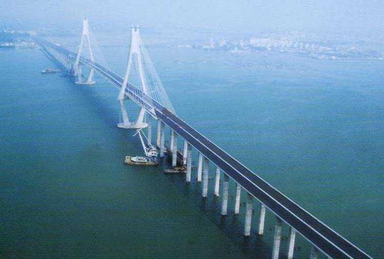 广东第一跨海大桥 湛江海湾大桥