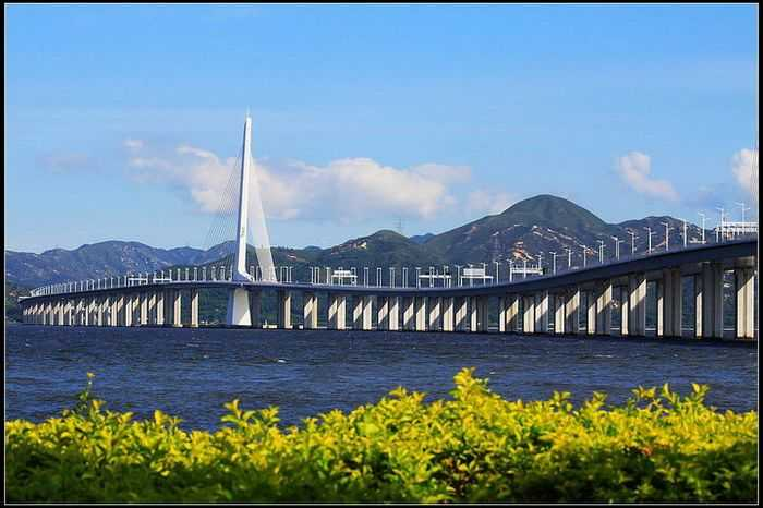 深港西部通道 深圳湾公路大桥