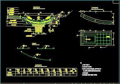 蝶形边沟设计图纸免费下载 - 公路图纸 - 土木工程网