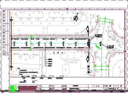 某图纸中修工程施工锚杆免费下载-公路道路图纸板式柱图纸挡土墙图片