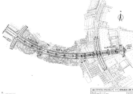 某道路市政工程施工图纸