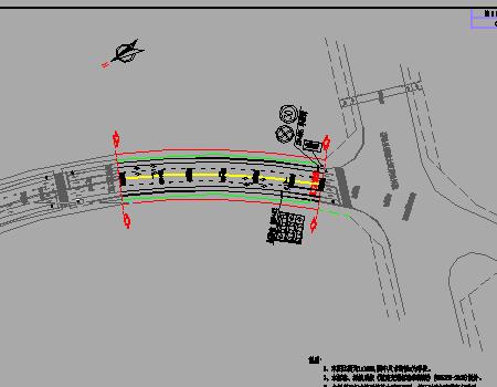 城市次干路交通工程施工图免费下载-公路图纸45手枪图纸图片