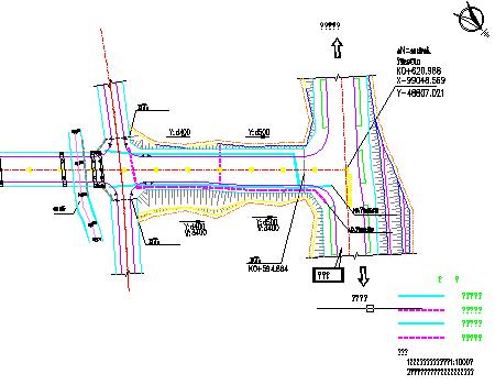城市Ⅱ级市政干道排水工程施工图(含设计计算说明)
