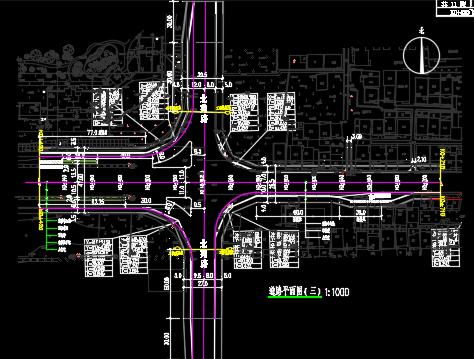 道路综合改造工程施工图纸