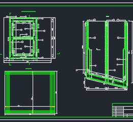 箱型挡土墙结构设计图纸