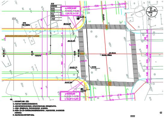 城市快速路施工图纸