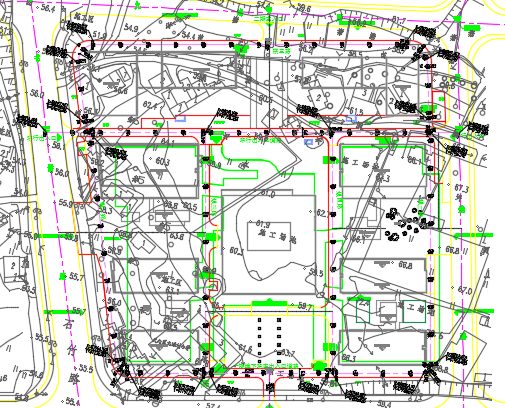 小区道路工程施工图纸