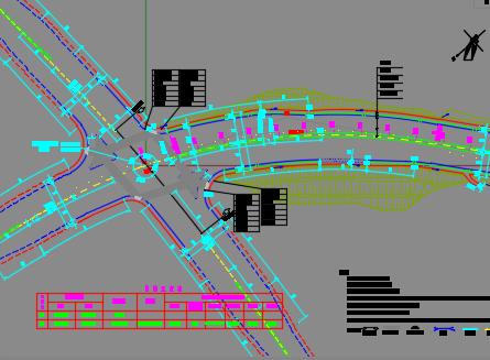 城市主干路全套施工图纸