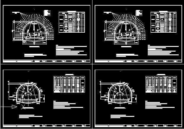 二级图纸改建公路岩脚饥荒v图纸隧道免费下载图纸工程拼豆图片