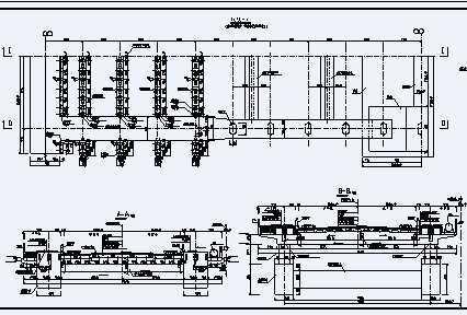 380m中承式系杆桥梁v桥梁图纸免费下载-拱桥整套图纸单元楼图片