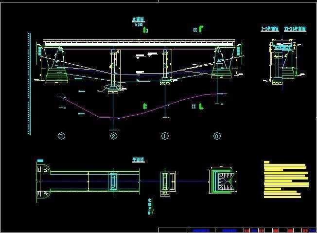 16米跨度t梁桥方案设计图纸