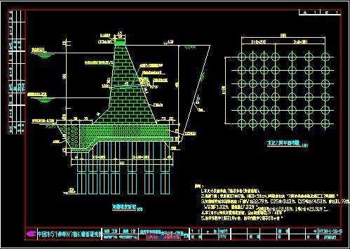 桥梁施工设计图纸