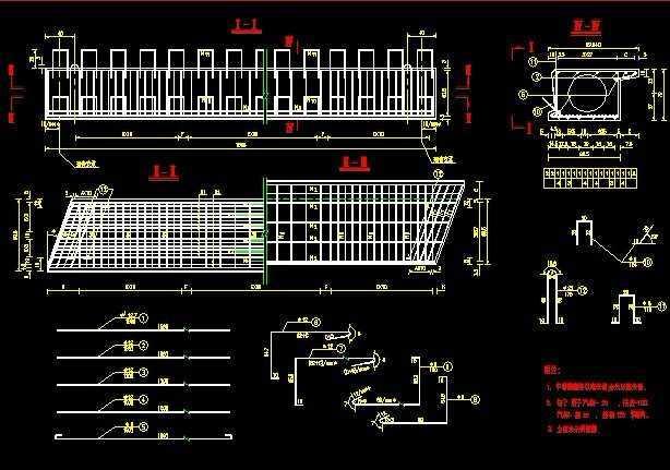 跨径l=16桥梁设计图纸