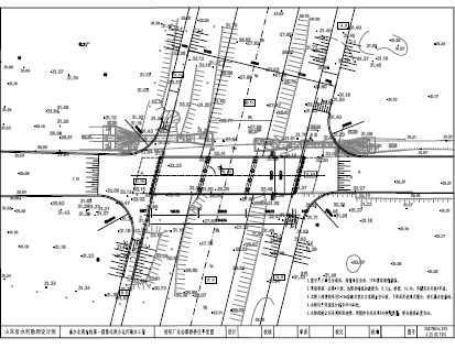 小运河桥梁设计图纸免费下载建筑设计事务所注册图片