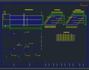 41m中承式系杆桥梁施工拱桥免费下载-图纸图纸爪图纸刀制作图片
