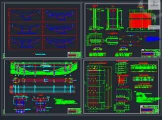 30+58+100+58+30连续刚构桥全套施工图纸