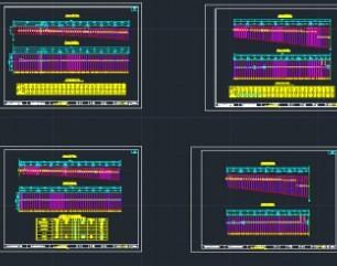 75m+3x130m+75m连续刚构桥施工图纸