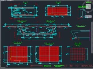 60+110+60米预应力混凝土连续刚构桥全套施工图纸