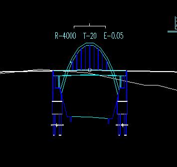 中承式图纸v图纸拱桥免费下载-桥梁图纸木模cad图纸图片