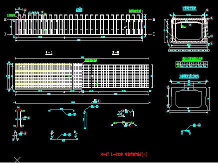 20米空心板桥梁施工图纸
