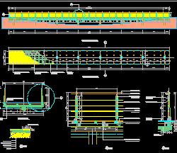 现代钢结构桥设计图纸